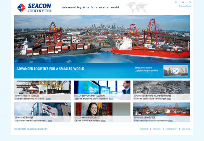 Seacon Logistics homepage