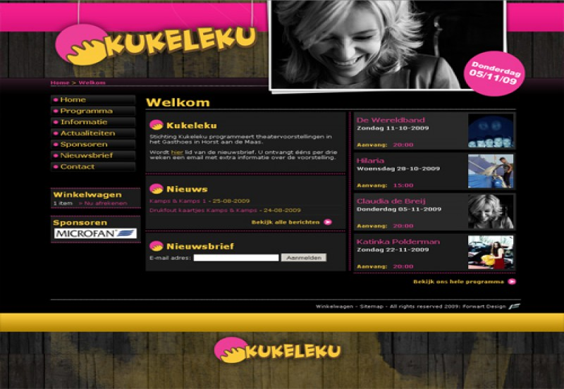 Website Stichting Kukeleku 1