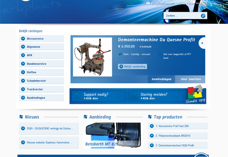 Homepage Saarloos