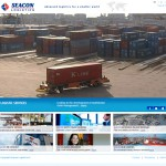 Seacon Logistics homepage met video