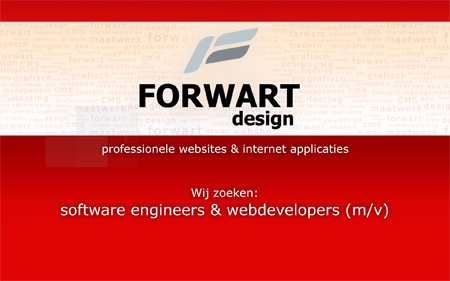 Vacature software engineer (web developer) 1