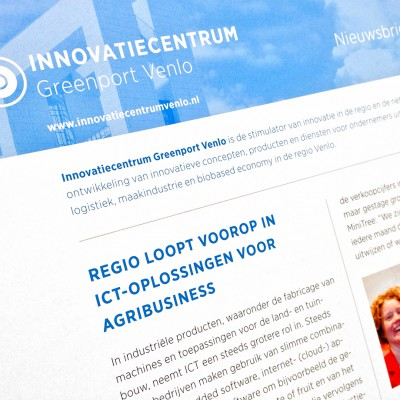 Infopagina Innovatiecentrum Greenport Venlo
