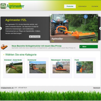 Agrimaster homepage