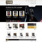Homepage webshop Old School Toys