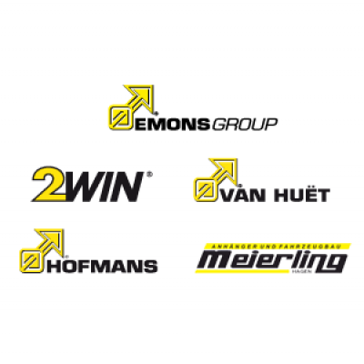 Emons Group divisies logos