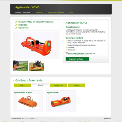 Agrimaster product detail