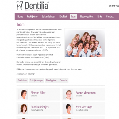Teampresentatie - Dentilia