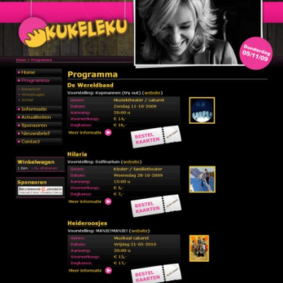 Website Stichting Kukeleku 2