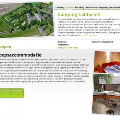 Website Camping Californië 2