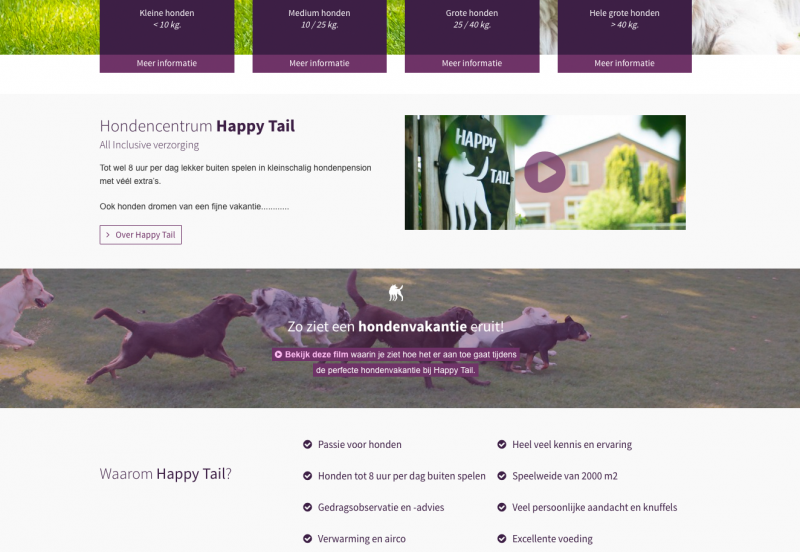 HappyTail-Homepage