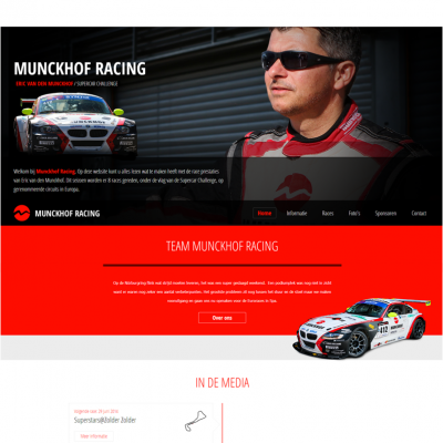 MunckhofRacing-Homepage